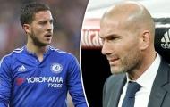 Zidane lên mục tiêu chuyển nhượng: 'Chiến dịch Hazard'