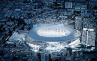 Tottenham có sân mới trị giá 800 triệu bảng