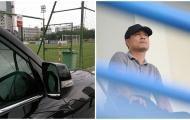 HLV Hữu Thắng đi xế hộp, âm thầm theo dõi U20 Việt Nam