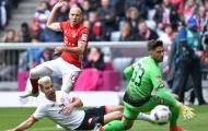 Arjen Robben sút góc hẹp san bằng tỷ số cho Bayern (Bayern Munich 1-1 Mainz 05, vòng 34 Bundesliga)