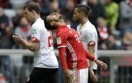 Thiago sút ngoài vòng cấm san bằng tỷ số 2-2 cho Bayern (Bayern Munich 2-2 Mainz 05, vòng 34 Bundesliga)