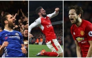 Giroud, Fabregas và đội hình siêu dự bị ở Premier League mùa này