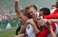 NÓNG: Ajax mất chức vô địch Hà Lan vì... Dirk Kuyt