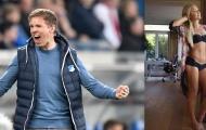 'Hoa khôi phòng gym Đức' mê mệt tướng tài Bundesliga