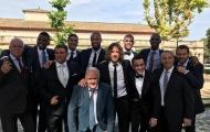 Huyền thoại Barca tề tựu trong lễ cưới của Victor Valdes