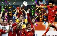 Vào ngày này |1.7| Tây Ban Nha lập hat-trick trong sinh nhật Văn Quyết