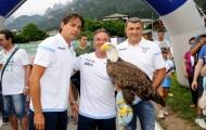 Lazio lại mang đại bàng ra 'tiếp sức' các cầu thủ