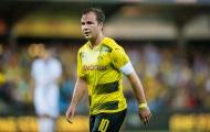 Dortmund lại thua trên đất Châu Âu trong ngày Gotze mang băng thủ quân