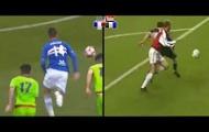 Cầu thủ từng bị Juventus chê Patrik Schick tái hiện siêu phẩm của Bergkamp