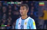 Paulo Dybala bất lực trước hàng thủ Venezuela