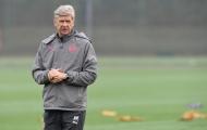 HLV Wenger đau đầu về lực lượng của Arsenal
