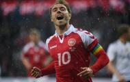 Christian Eriksen xứng danh thủ lĩnh Đan Mạch