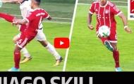 Thiago Alcantara làm xiếc với trái bóng (vs Freiburg) như Ronaldinho