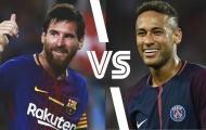 10 cầu thủ rê bóng hay nhất châu Âu 2018: Neymar so kè Messi