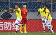 Colombia thị uy giấc mơ vươn tầm của bóng đá Trung Quốc