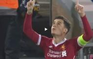 Màn trình diễn của Philippe Coutinho vs Spartak Moscow