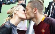 Mắng Spalletti tiểu nhân, vợ Totti chưa bao giờ thấy hối hận