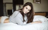 Kristyna, chị gái siêu mẫu của sao AS Roma