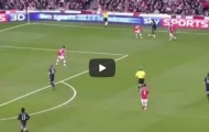 Luis Nani và bàn thắng cực đẹp vào lưới Arsenal