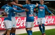 Napoli giữ vững ngôi đầu, Benevento lại tạo địa chấn