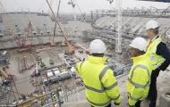 Công trình White Hart Lane mới của Tottenham vẫn còn ngổn ngang