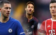 Hazard, Neymar và những ngôi sao hứa hẹn khuynh đảo TTCN mùa hè