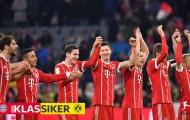 Lewandowski lập hattrick, Bayern vùi dập Dortmund với tỉ số kinh hoàng