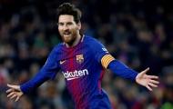 Top 10 cầu thủ tạo nhiều cơ hội ăn bàn nhất châu Âu (Phần 1): Messi kém sao Lazio