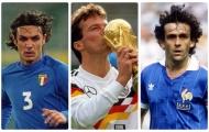 25 danh thủ làm nên thương hiệu của World Cup (Phần 1)
