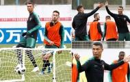 Ronaldo ghi bàn ngay khi đặt chân đến nước Nga