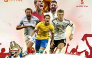 Xem trực tiếp World Cup 2018 ở đâu?