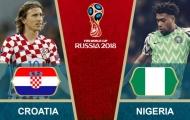 02h00 ngày 17/06, Croatia vs Nigeria: Sống còn trận ra quân