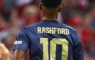 Rashford phản ứng ra sao khi được trao áo số 10 huyền thoại tại M.U?