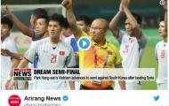 Truyền hình Hàn Quốc nói trận gặp Olympic Việt Nam là 'bán kết trong mơ'