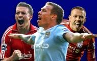 Top 5 ngôi sao từng khoác áo Man City và Liverpool: Bất ngờ với tượng đài Man United