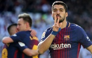 Barca đại thắng Real, Luis Suarez 'tự sướng' khắp phòng thay đồ