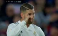 Fan Barca phấn khích vì biểu cảm của Ramos sau bàn thua thứ 4