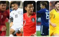 Quang Hải sánh vai cùng Son Heung-min trong top 6 sao khủng của Asian Cup
