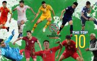 'Cậu Út' ĐT Việt Nam lọt top 10 gương mặt xuất sắc vòng 1/8 Asian Cup 2019