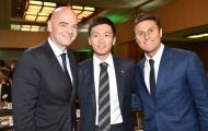 Chủ tịch FIFA 'quan tâm' đến vợ mục tiêu Man Utd