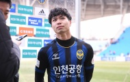 CỰC NÓNG: Công Phượng đá chính trận thứ 2 liên tiếp trong màu áo Incheon
