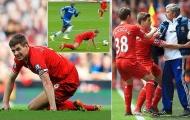 Tròn 5 năm ngày 'Gerrard trượt cỏ', bóng ma Chelsea lại ám ảnh Liverpool