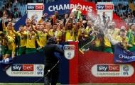 Chùm ảnh: Ngày đăng quang chức vô địch của Norwich City