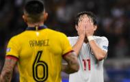 Nghiệt ngã! Chiến đấu hết mình, Nhật Bản cùng đối thủ đều là đội thua cuộc