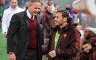 Xúc động với lời nhắn gửi của Totti dành cho cựu HLV AC Milan