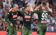 Sao tuyển Bỉ lập công, Napoli nhẹ nhàng đánh bại đại diện Ligue 1
