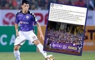 Đình Trọng gửi thông điệp đến CLB Hà Nội sau khi giành vé đi tiếp tại AFC Cup