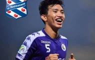 NÓNG: Không sang Thái Lan, Đoàn Văn Hậu gia nhập CLB SC Heerenveen (Hà Lan)