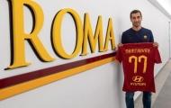 Vừa đến AS Roma, sao Arsenal đã được huyền thoại khen ngợi