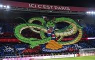 CHOÁNG! NHM PSG triệu hồi 'rồng thần', át vía Marseille từ khán đài